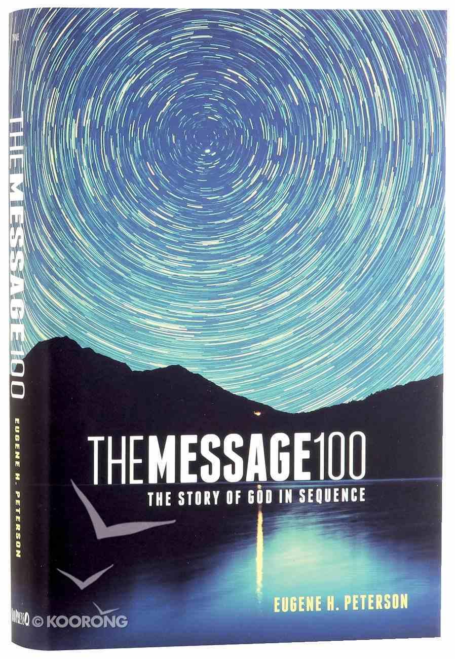 Message 100 Devotional Bible (Black Letter Edition) Hardback