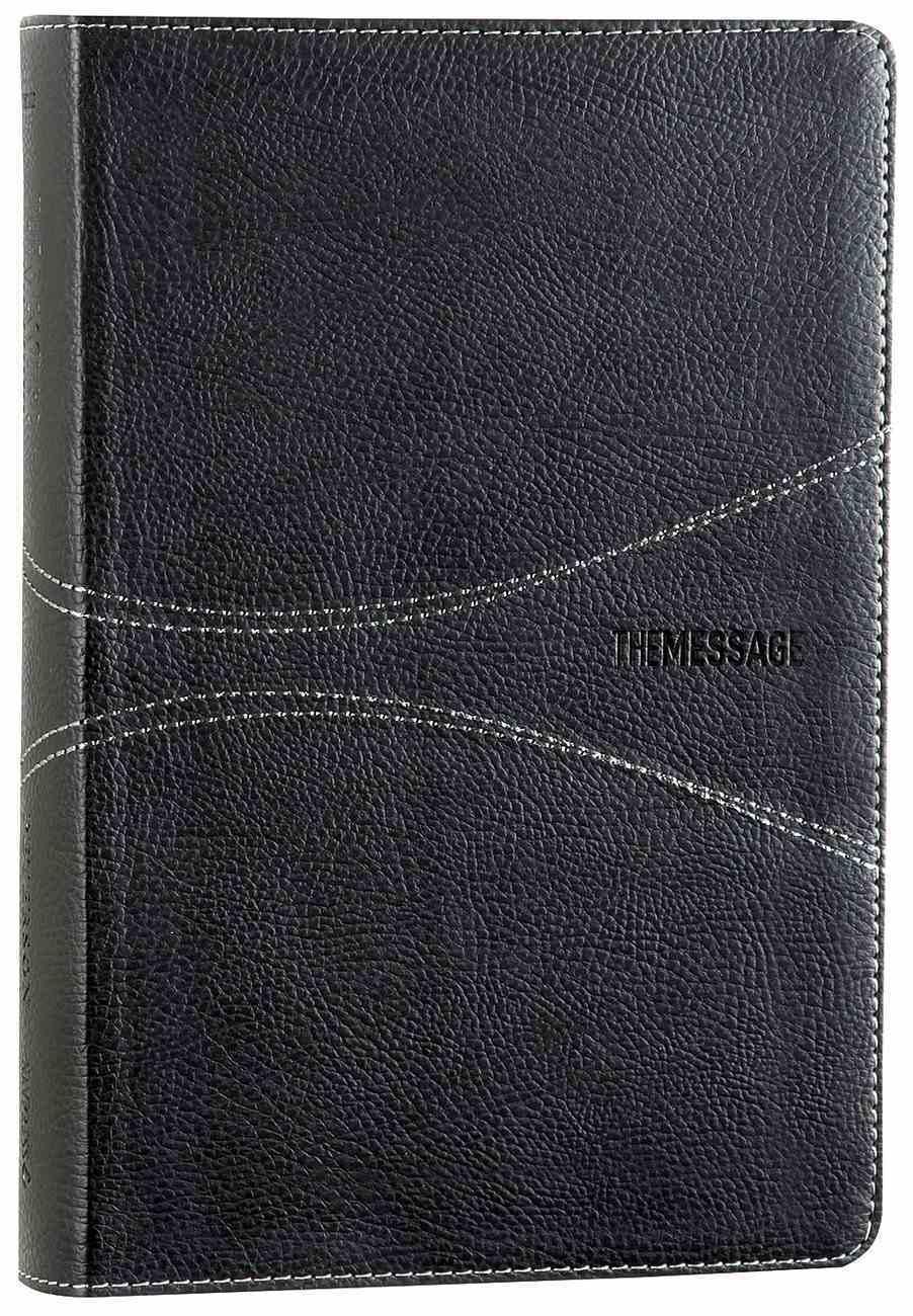 Message Personal Size Black Wave (Black Letter Edition) Imitation Leather