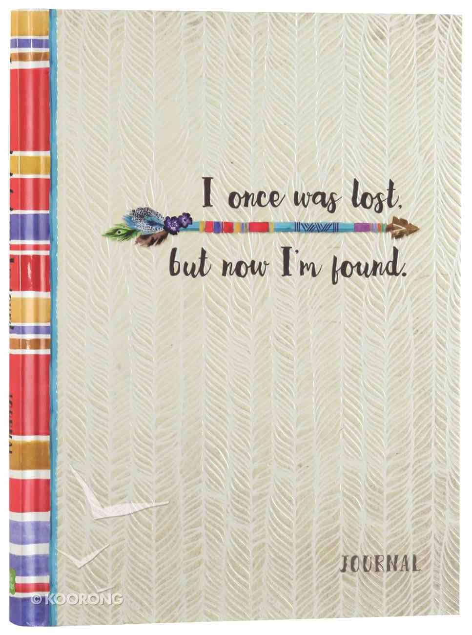 Signature Journal: I Once Was Lost, But Now I'm Found Hardback