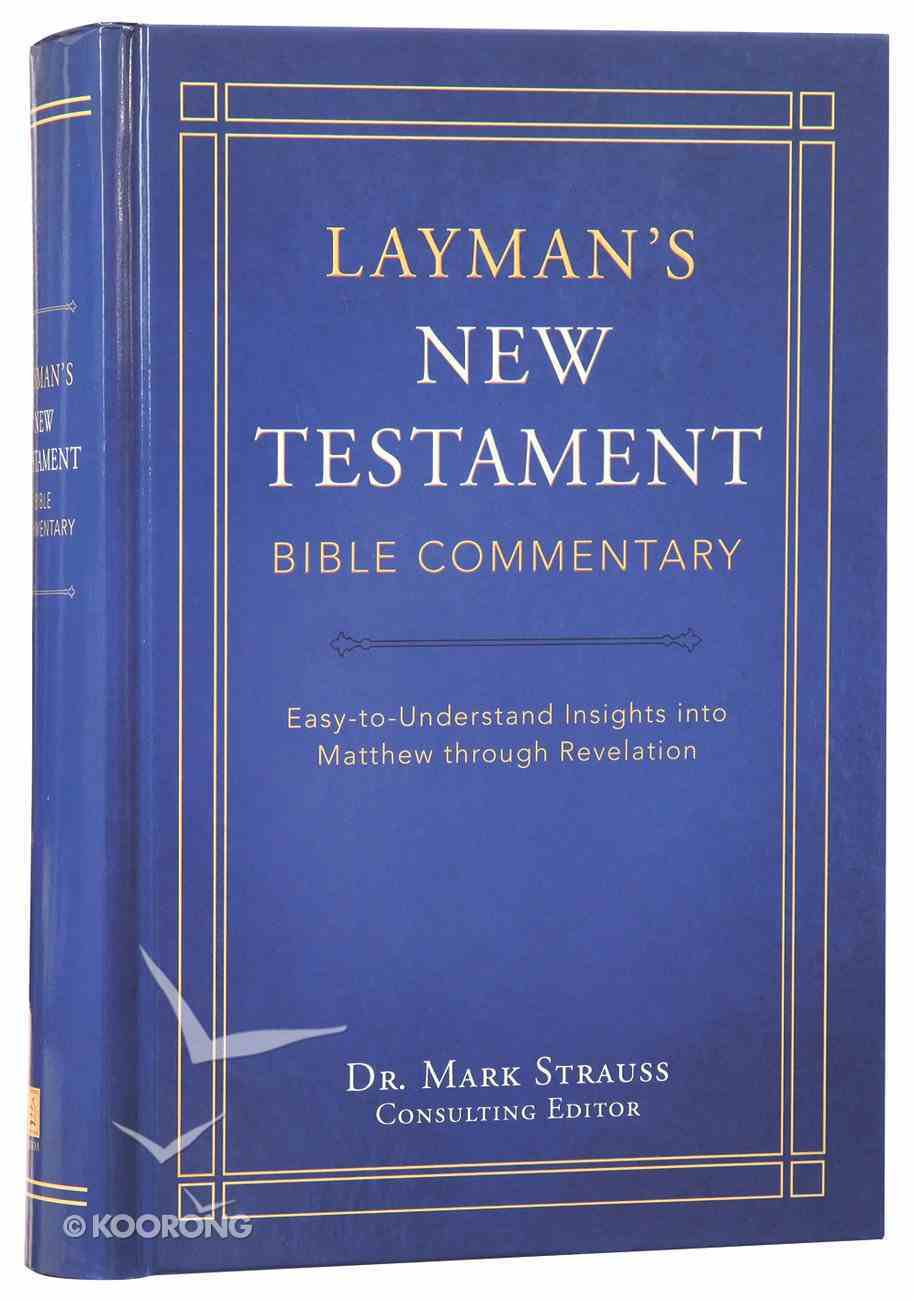 Layman's New Testament Bible Commentary Hardback