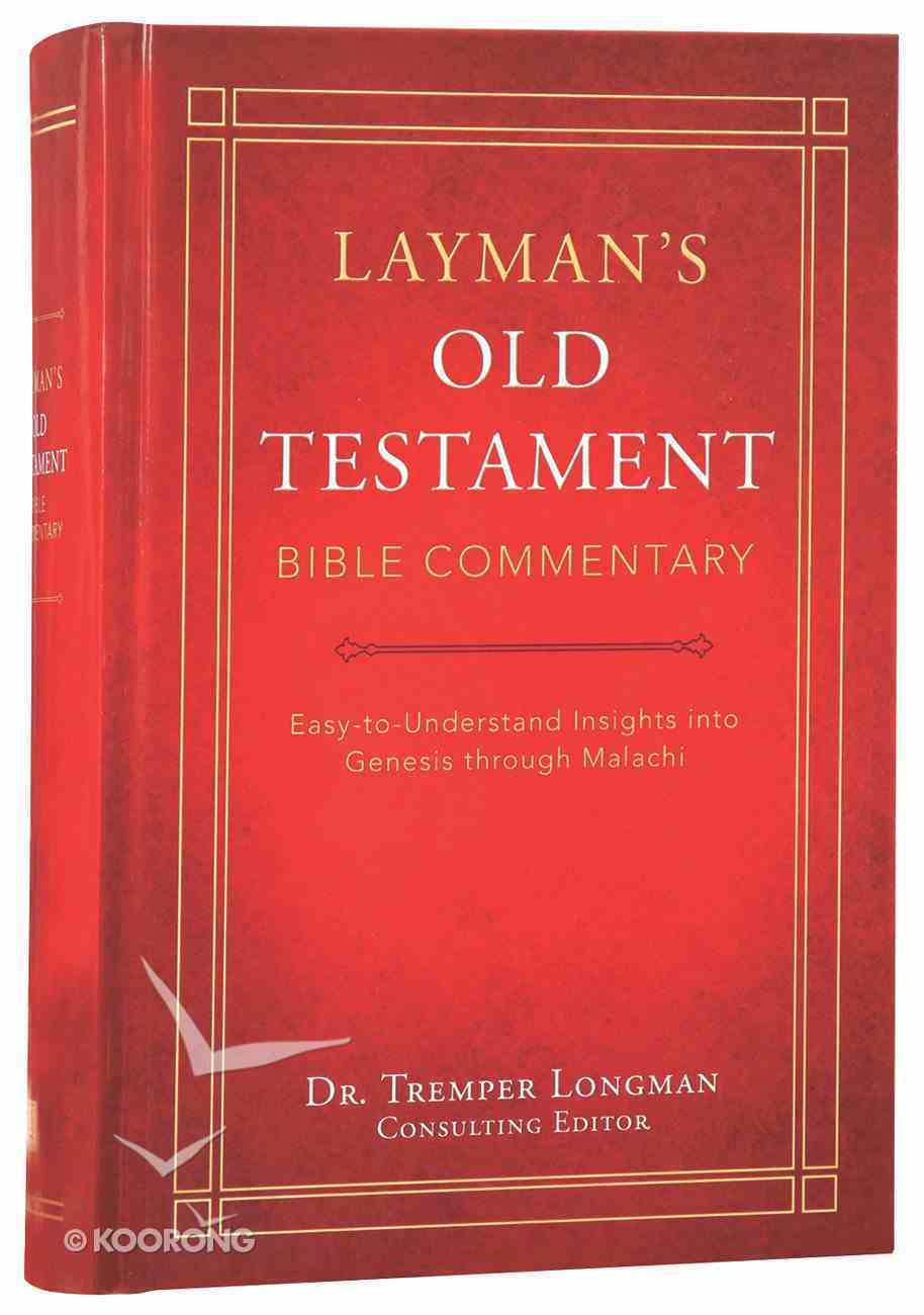 Layman's Old Testament Bible Commentary Hardback