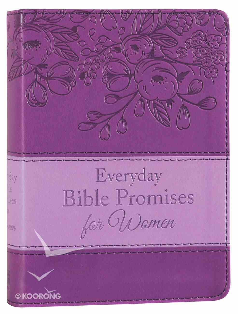 Everyday Bible Promises For Women (Purple) Imitation Leather