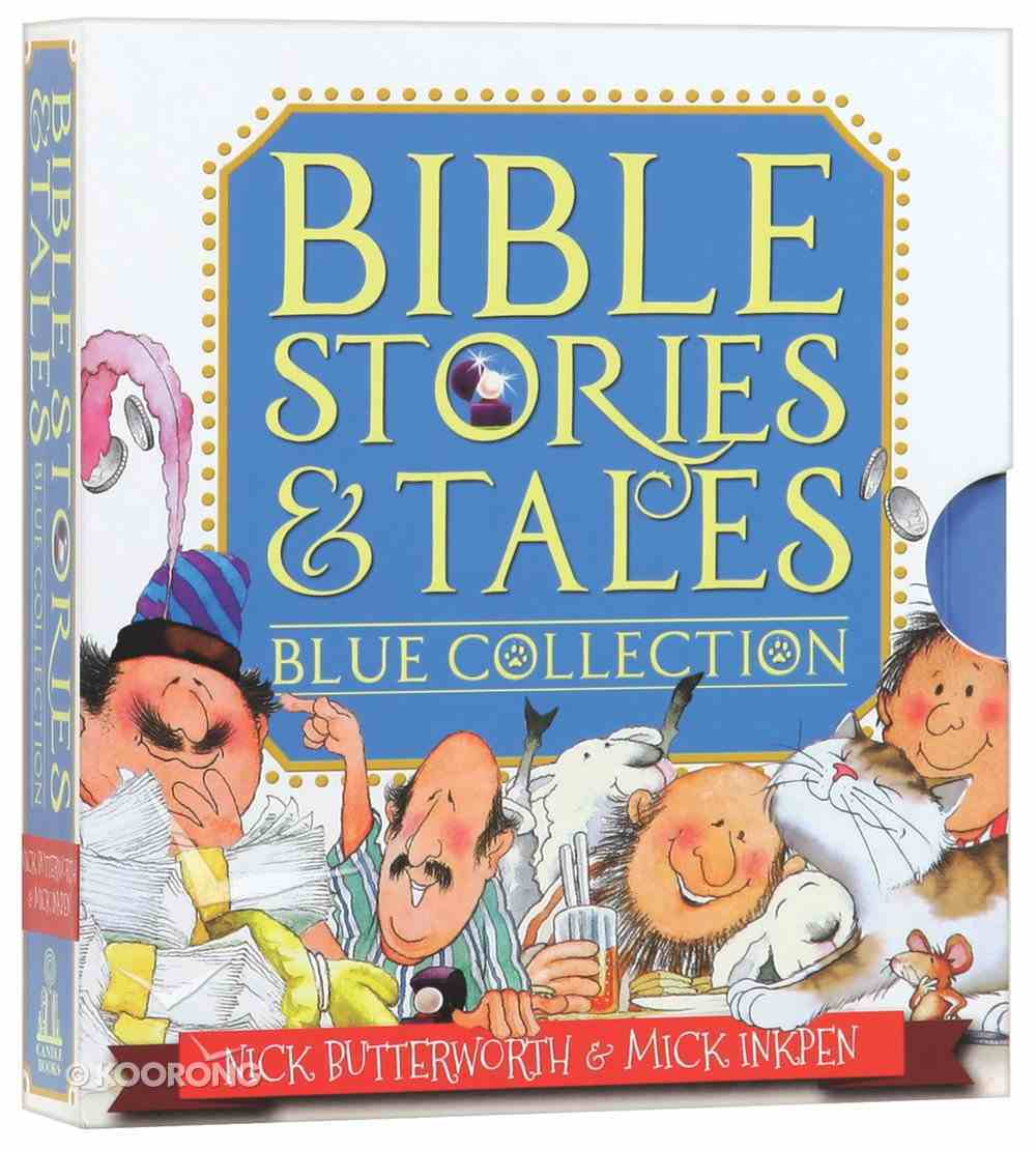 Bible Stories & Tales Blue Collection (6 Vol Set) Box