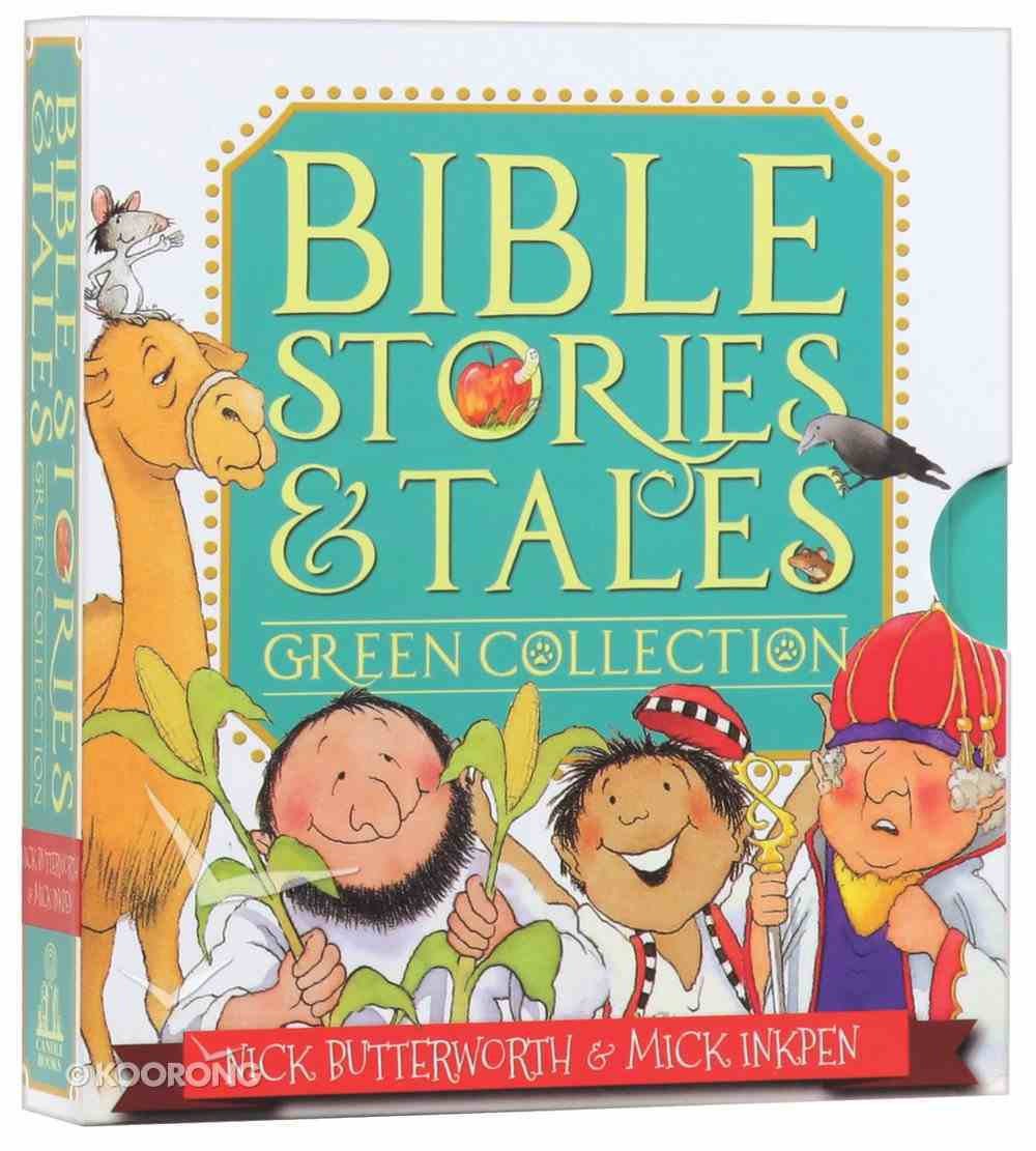 Bible Stories & Tales Green Collection (6 Vol Set) Box