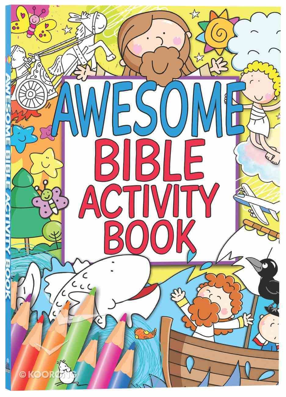 Awesome Bible Activity Book Paperback