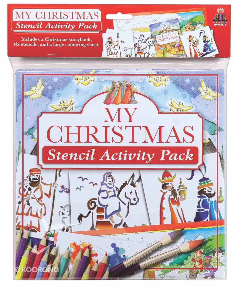 My Christmas Stencil Activity Pack Pack