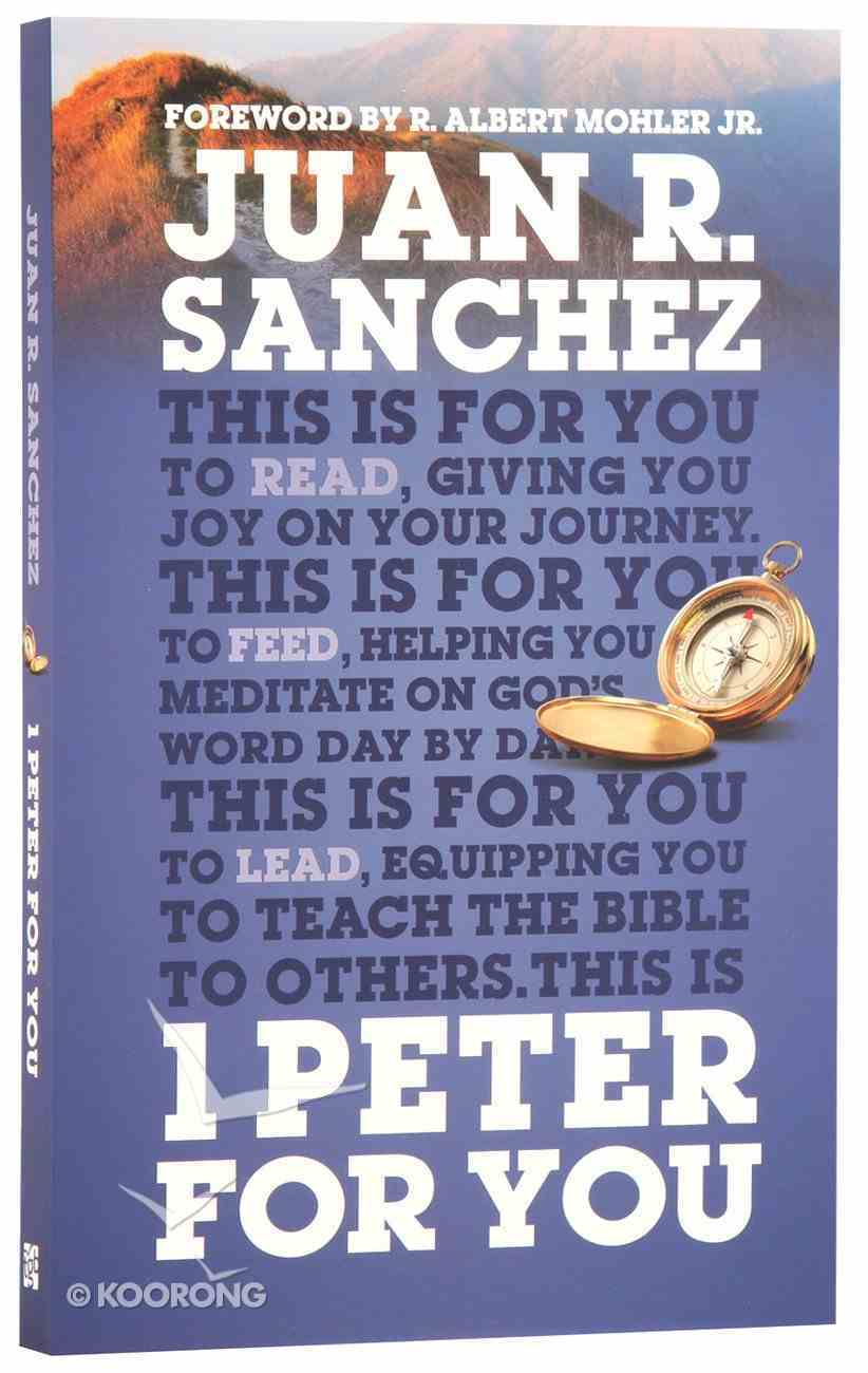 1 Peter For You (God's Word For You Series) Paperback