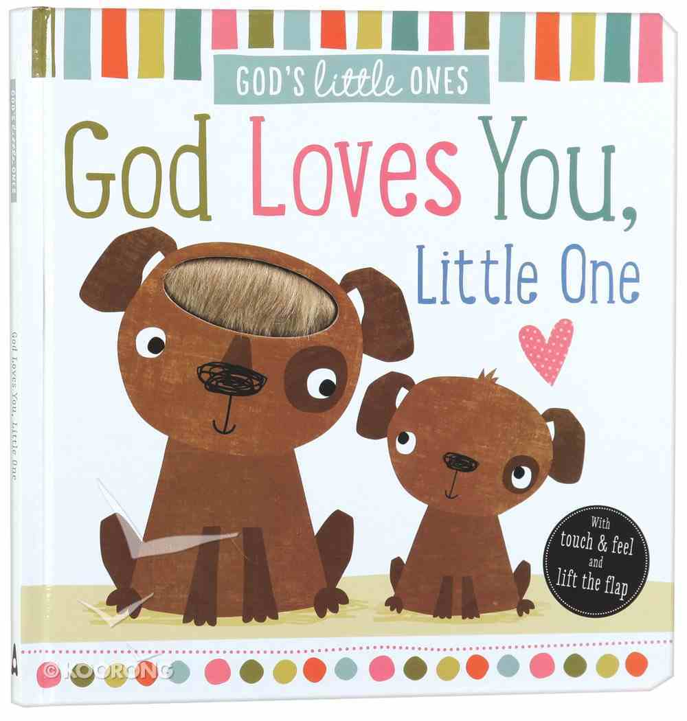 God Loves You, Little One (God's Little Lamb Series) Board Book