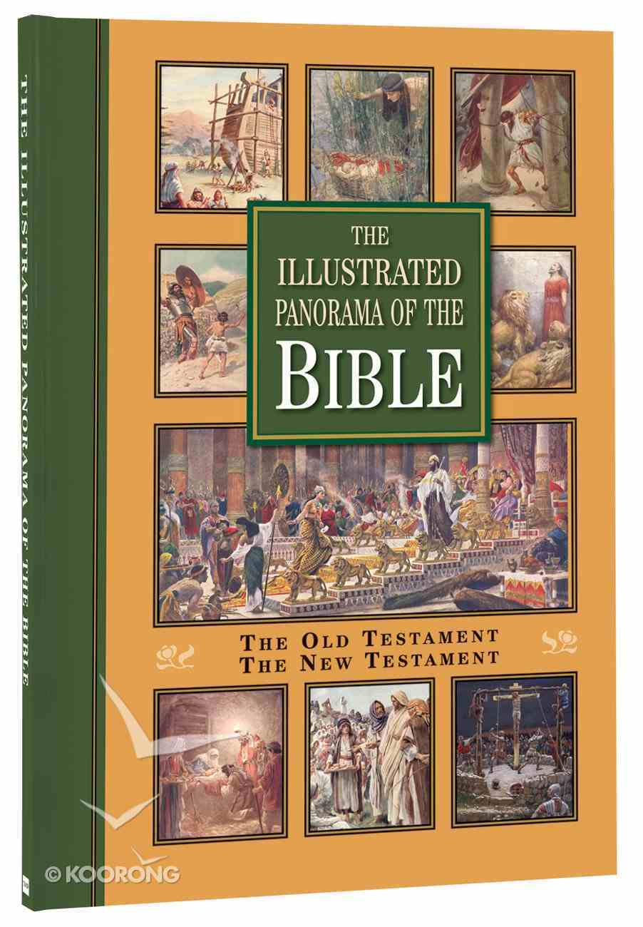 The Illustrated Panorama of the Bible (Two Volumes In One) Paperback