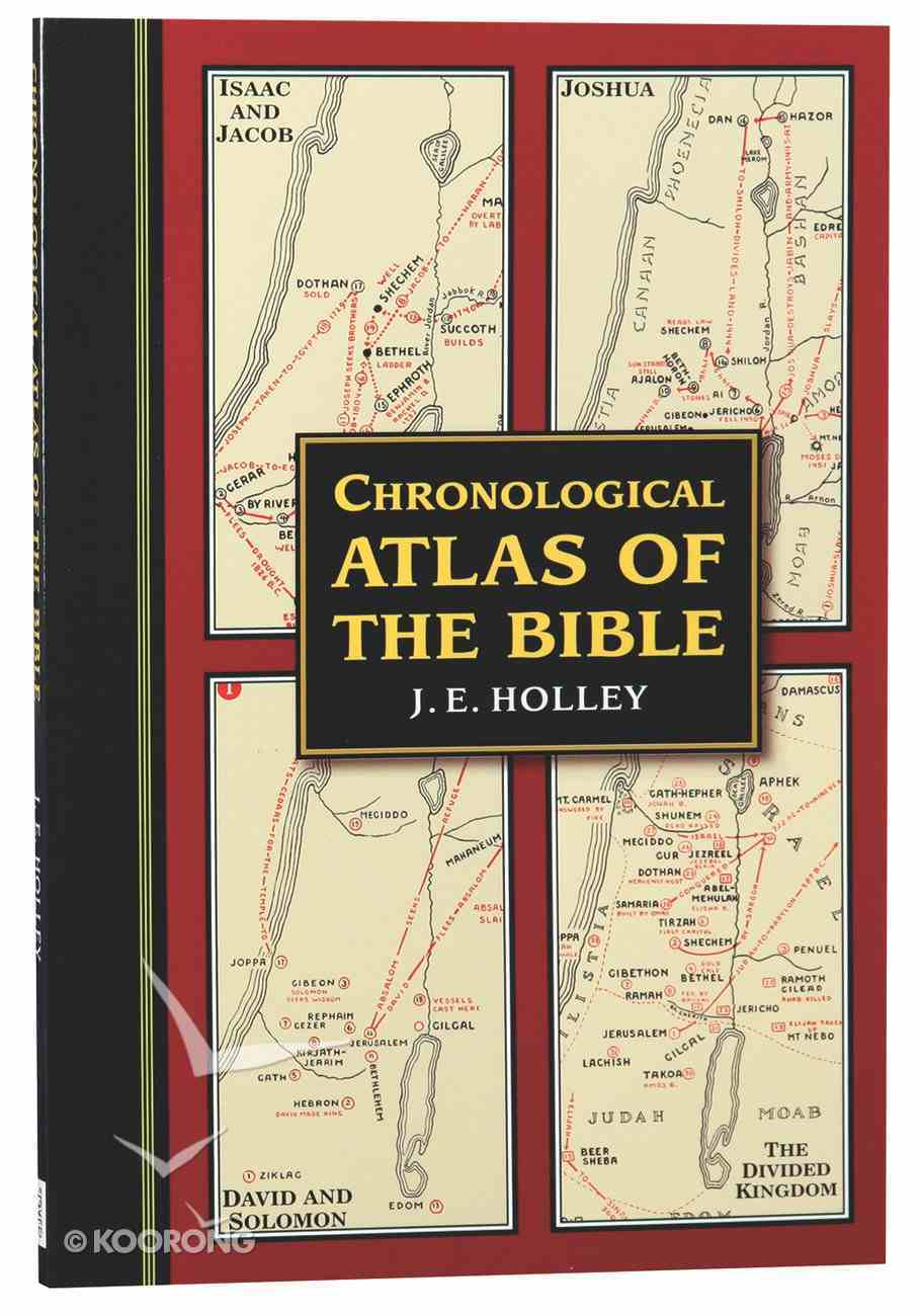 Chronological Atlas of the Bible Paperback