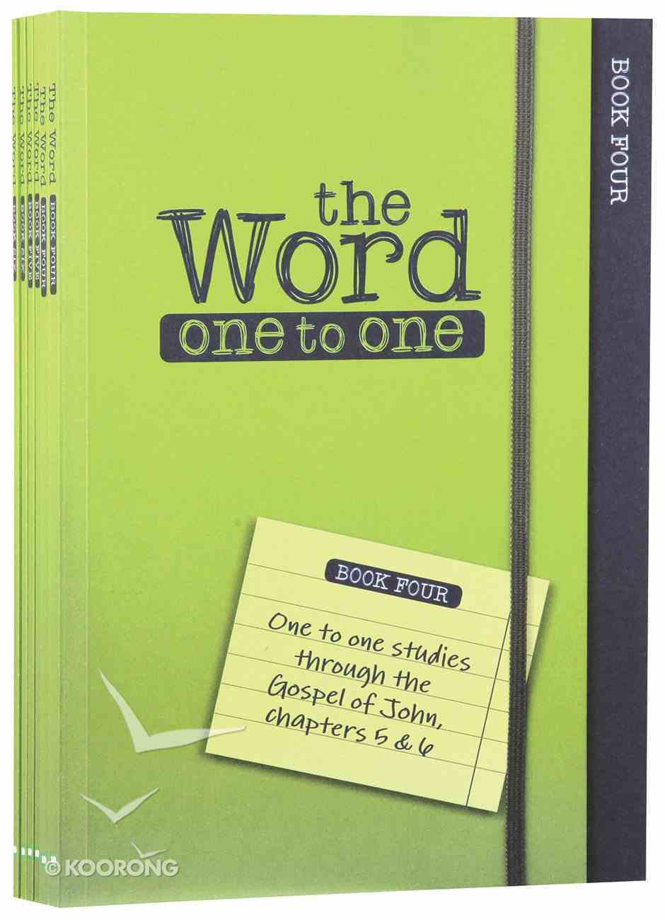 John 5-10 (Pack Two) (#02 in The Word One To One Series) Paperback