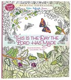 Adult Coloring Book Travel Size: This Is The Day The Lord Has Made image