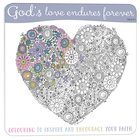 Adult Coloring Book: Gods Love Endures Forever