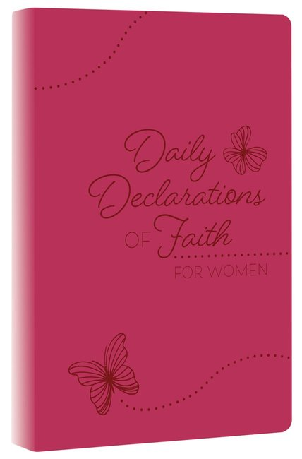 Product: Daily Declarations Of Faith For Women Image