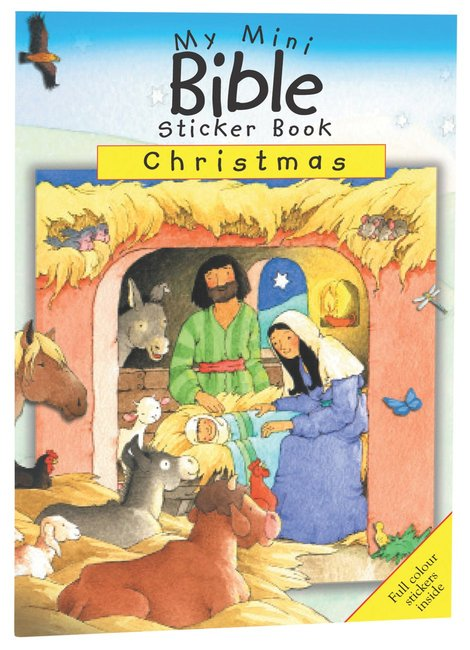 Product: My Mini Bible Sticker Book: Christmas Image