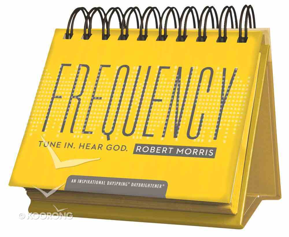 Daybrighteners: Frequency - Tune In. Hear God (Padded Cover) Spiral