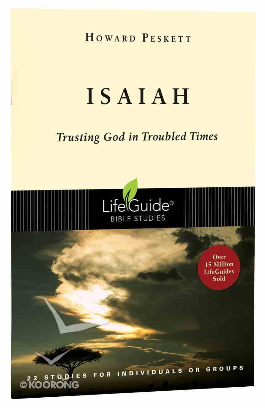 Isaiah (Lifeguide Bible Study Series) Paperback