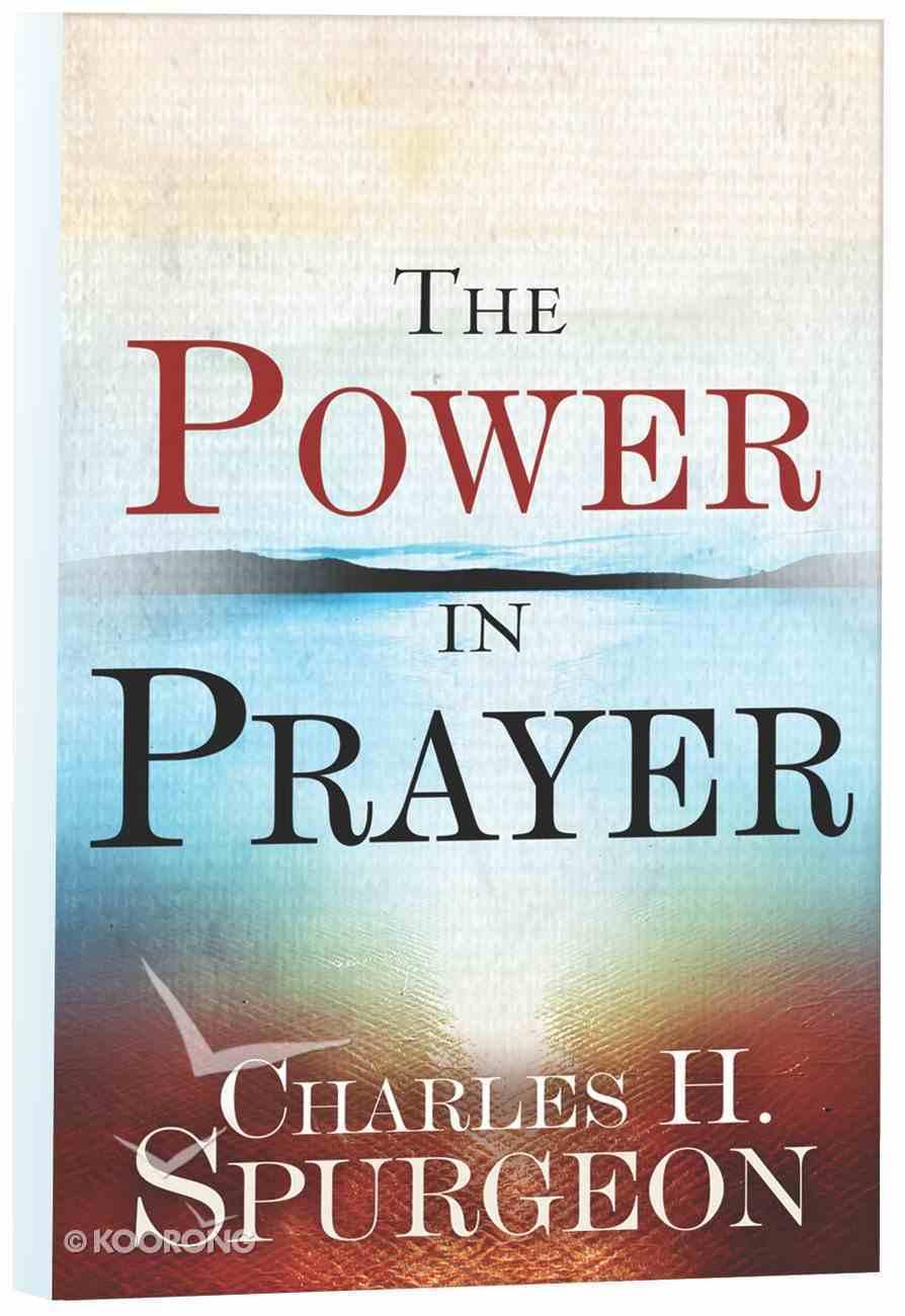 The Power in Prayer Paperback