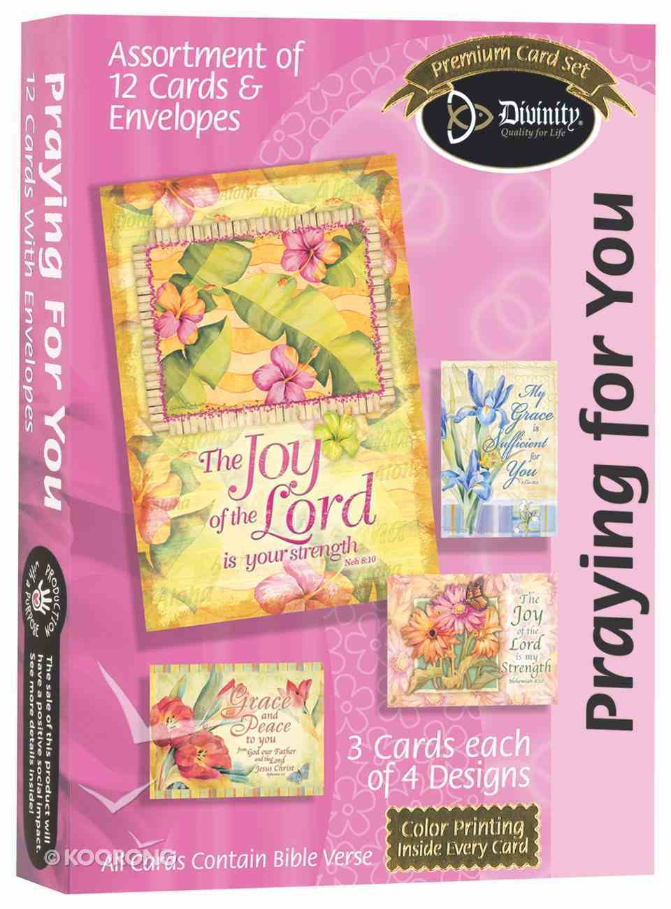Boxed Cards: Praying For You Box