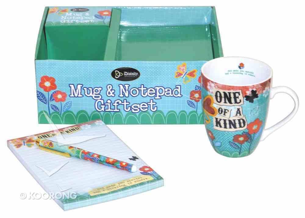 Gift Set: Mug, Notepad & Pen: One of a Kind General Gift