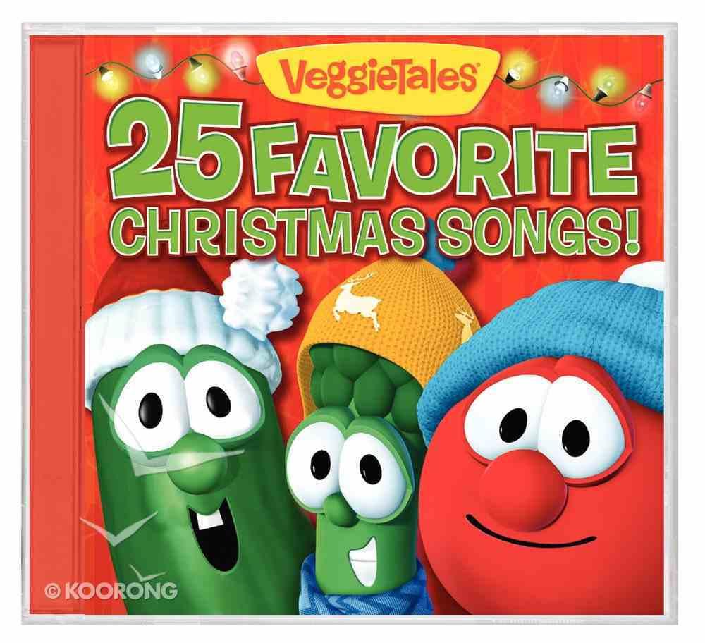 Veggie Tunes: 25 Favourite Christmas Songs CD