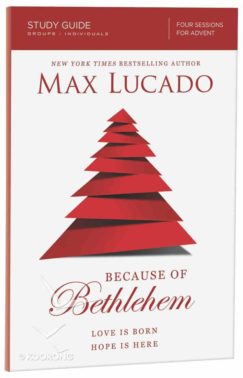 Because of Bethlehem (Study Guide) Paperback