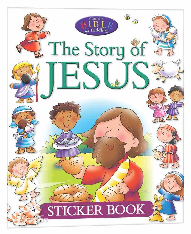 Sticker Book: The Story of Jesus Paperback