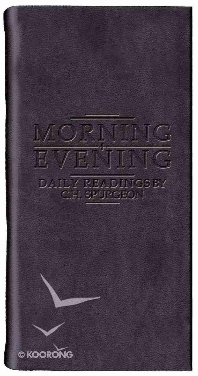Morning & Evening (Black) Imitation Leather