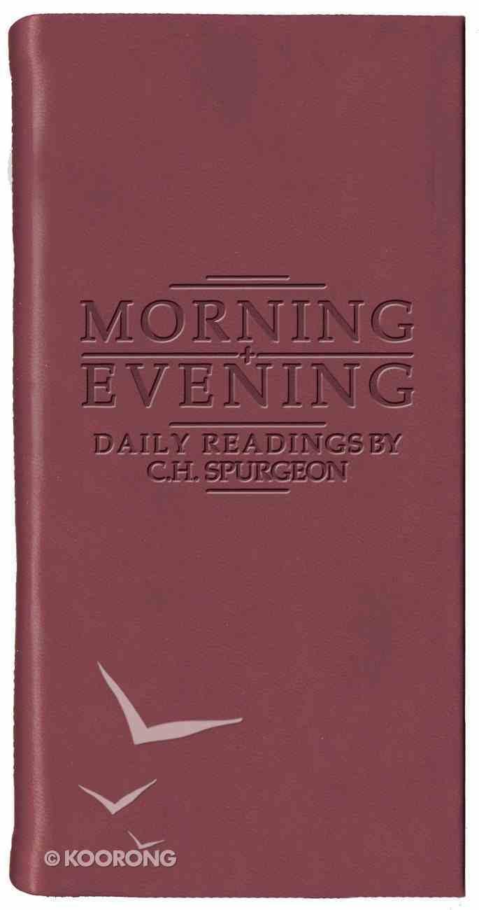 Morning & Evening (Burgundy) Imitation Leather