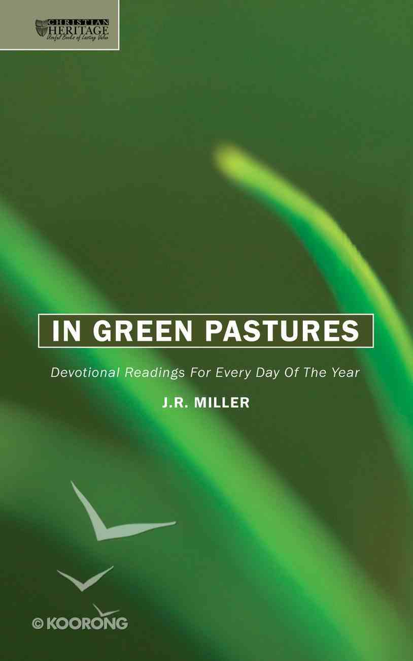 In Green Pastures Hardback