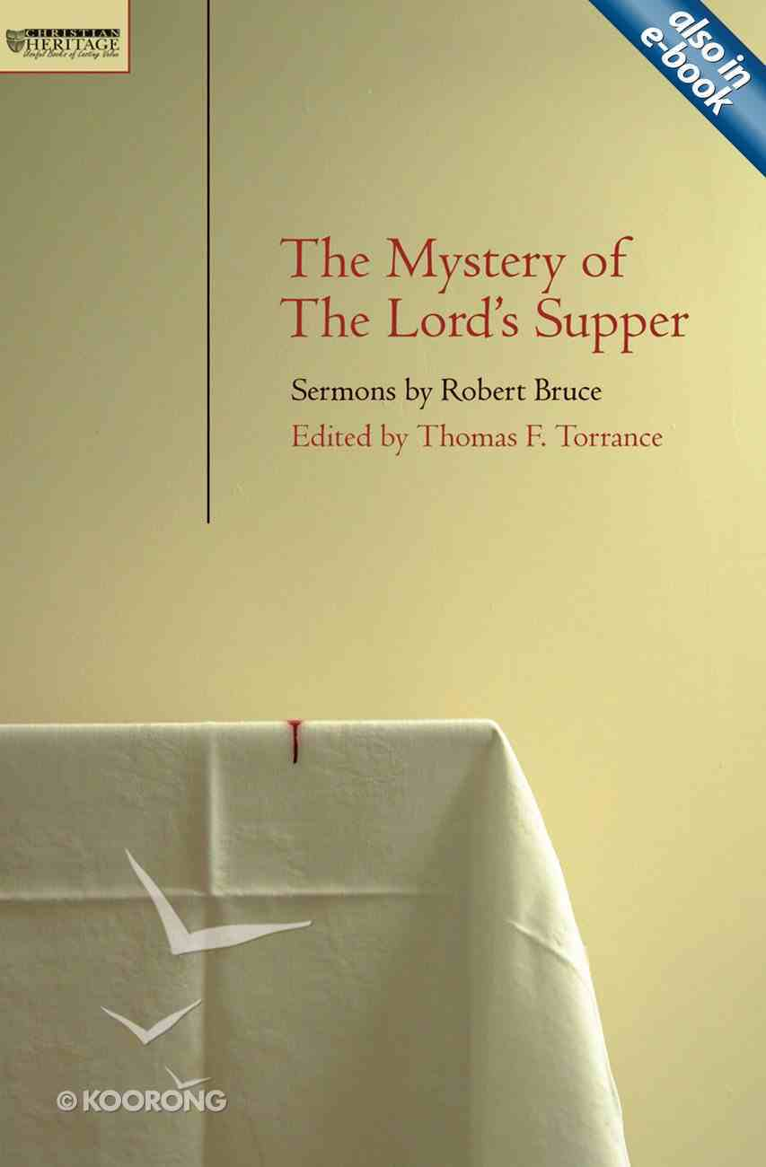 Mystery of the Lord's Supper Paperback