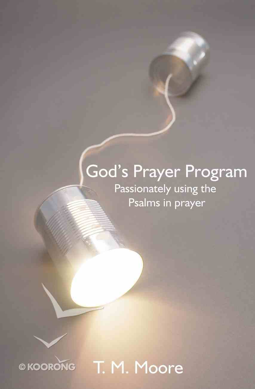 God's Prayer Programme Paperback