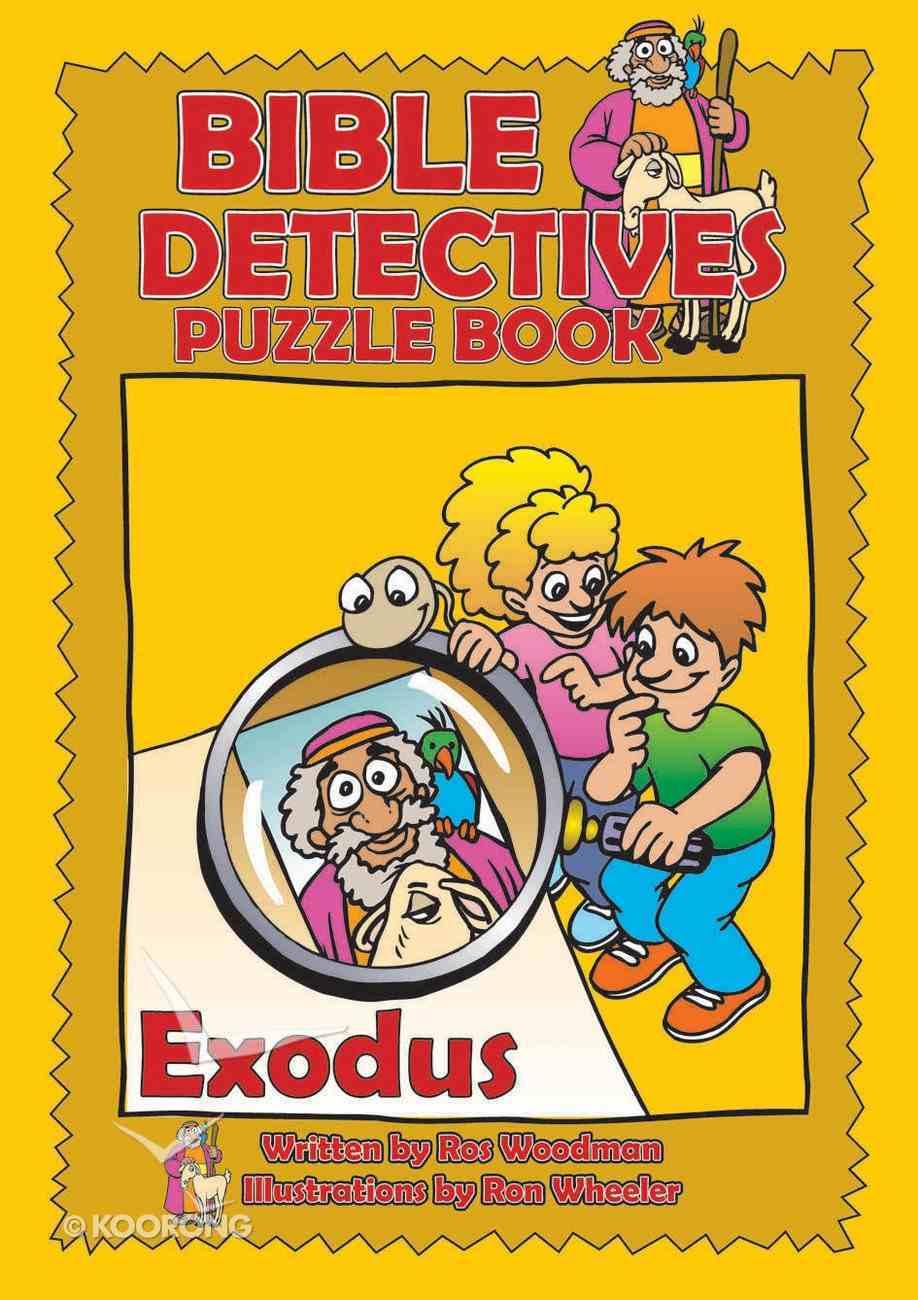 Exodus (Puzzle Book) (Bible Detectives Series) Paperback