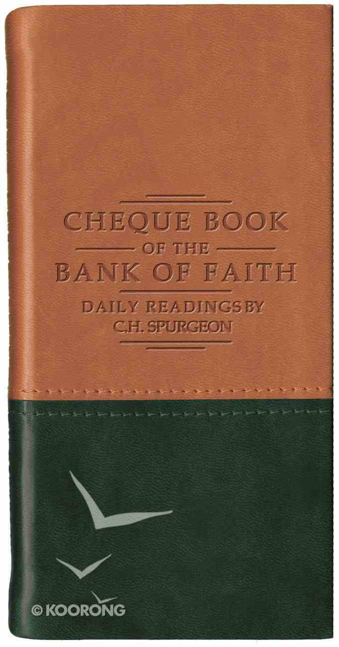 Cheque Book of the Bank of Faith (Tan/Green) (Christian Heritage Series) Imitation Leather