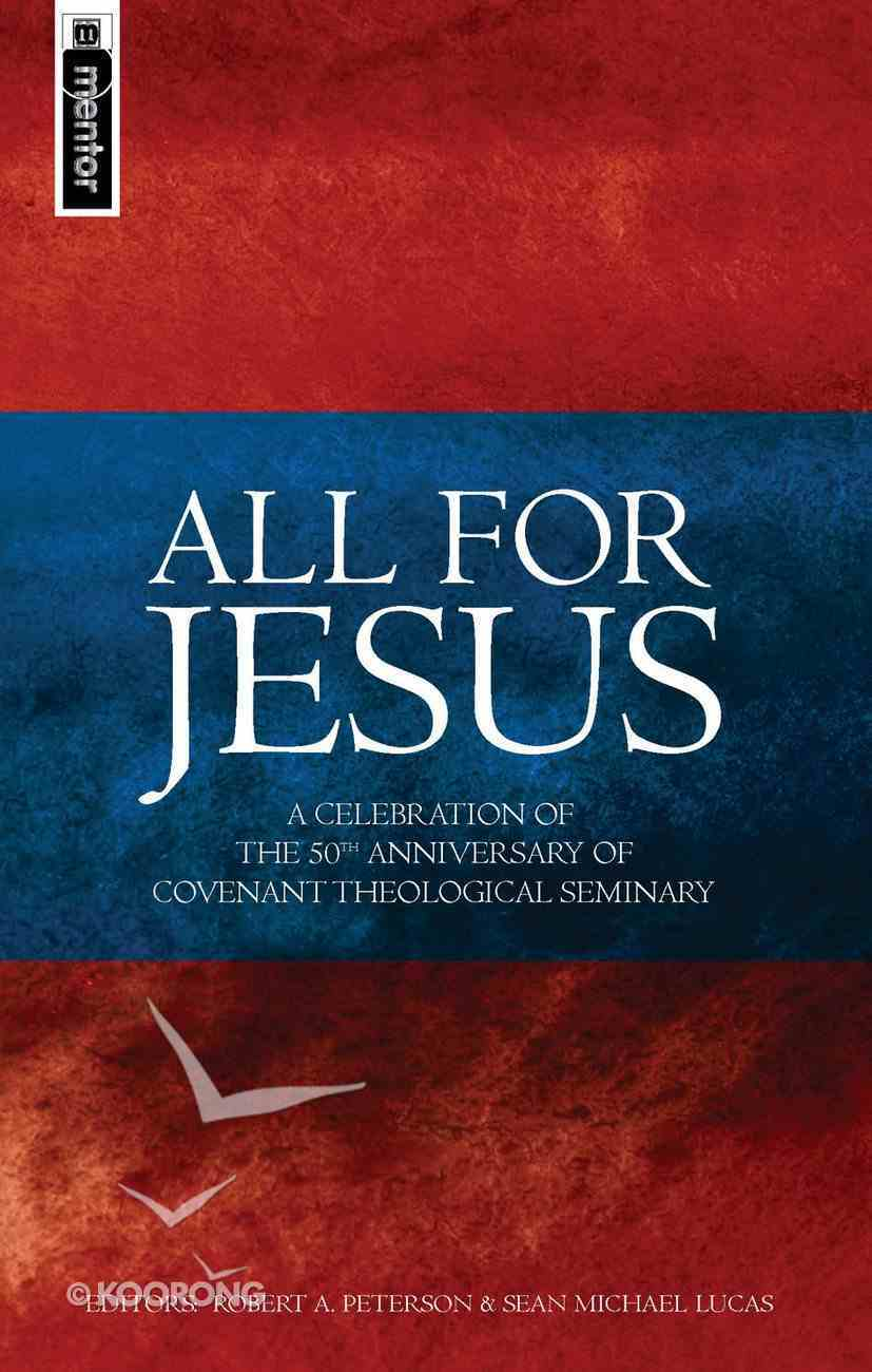 All For Jesus Hardback