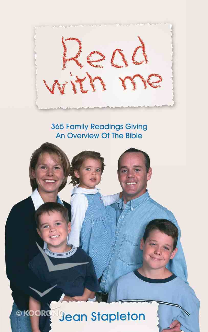 Read With Me Paperback