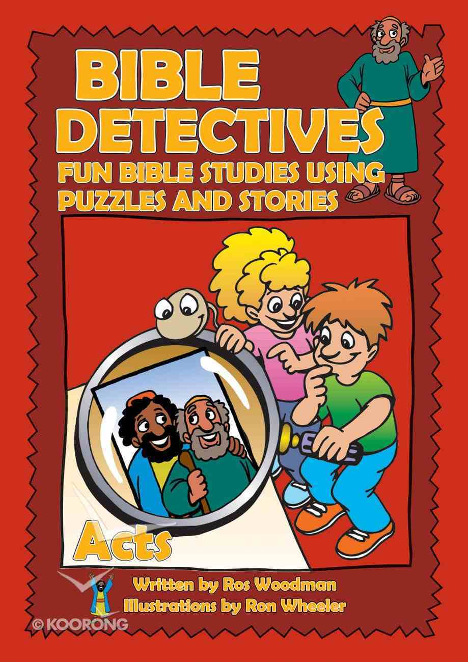 Acts (Puzzle Book) (Bible Detectives Series) Paperback