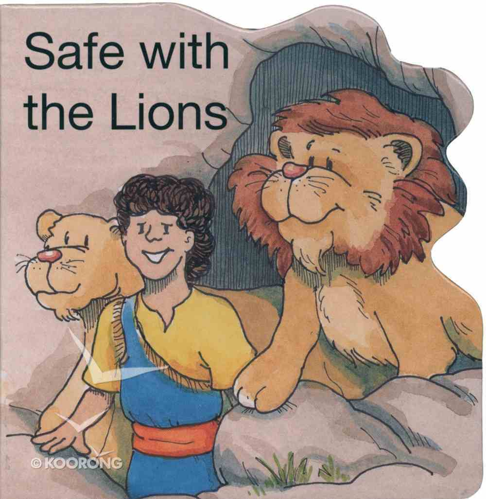 Miracle: Safe With the Lion (Miracle Board Books Series) Board Book