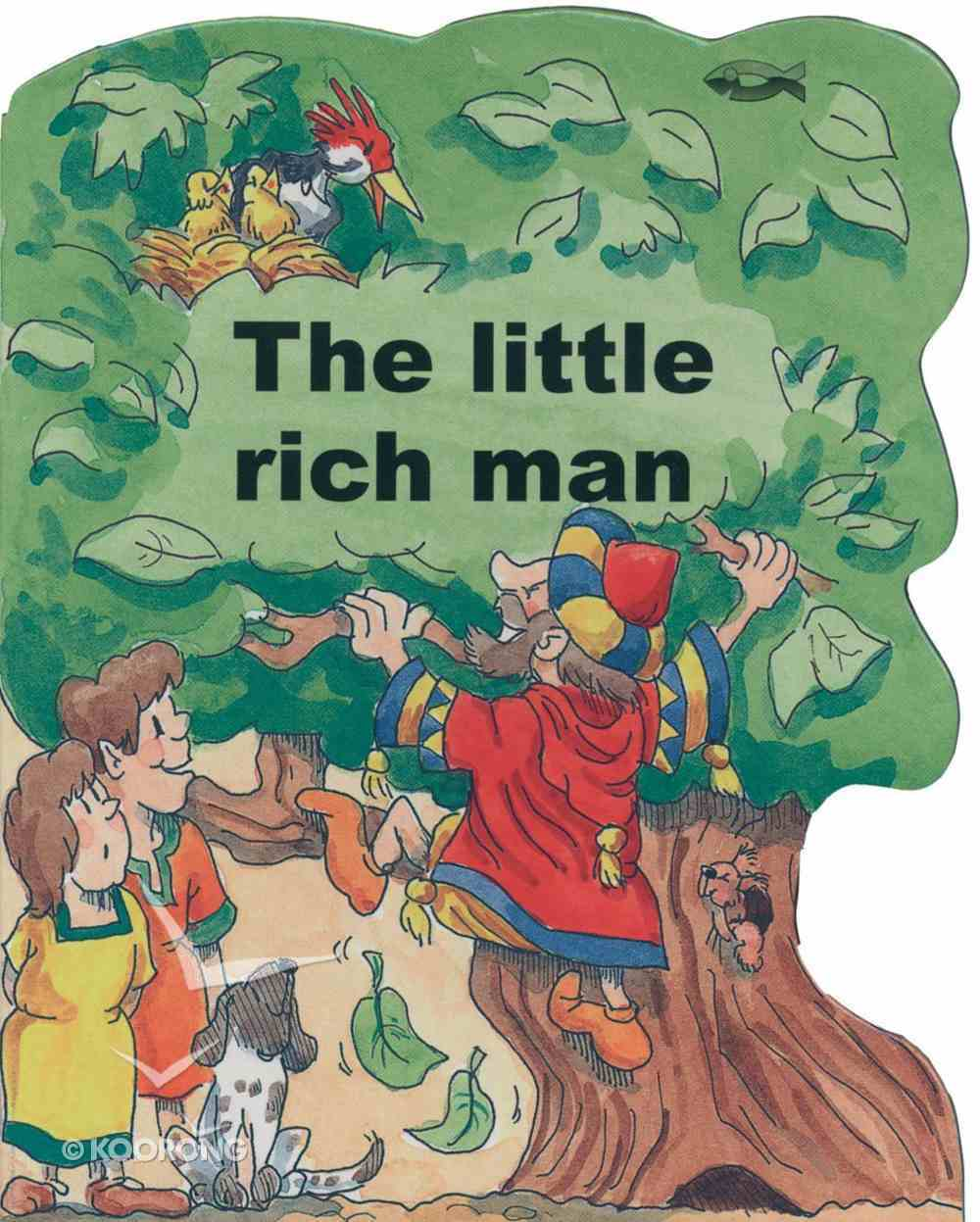 Miracle: Little Rich Man (Miracle Board Books Series) Board Book