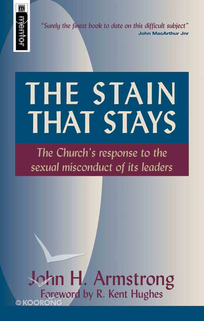 The Stain That Stays Paperback