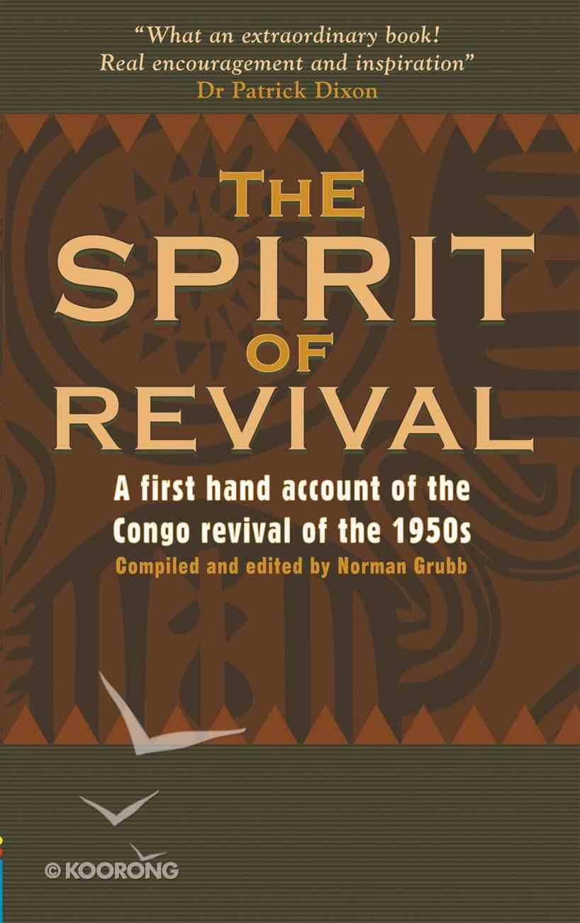 The Spirit of Revival Paperback