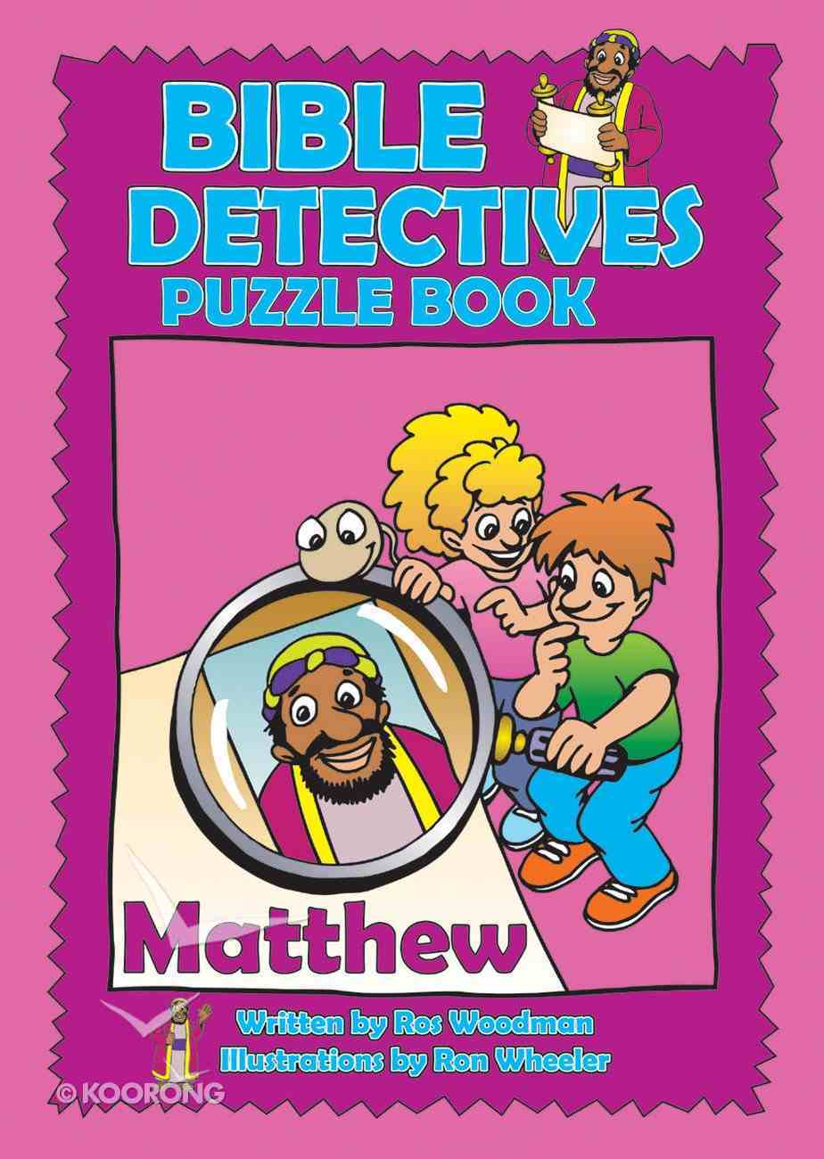 Matthew (Puzzle Book) (Bible Detectives Series) Paperback