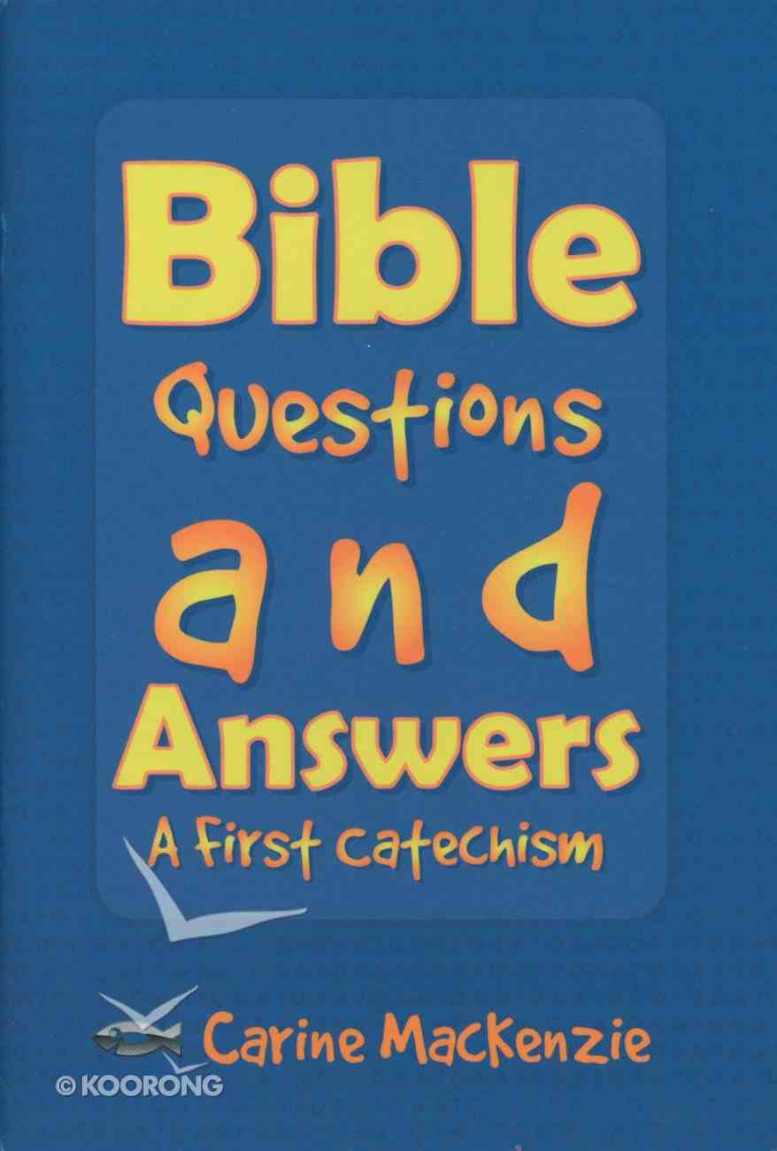 Bible Questions and Answers (Us Ed) Paperback