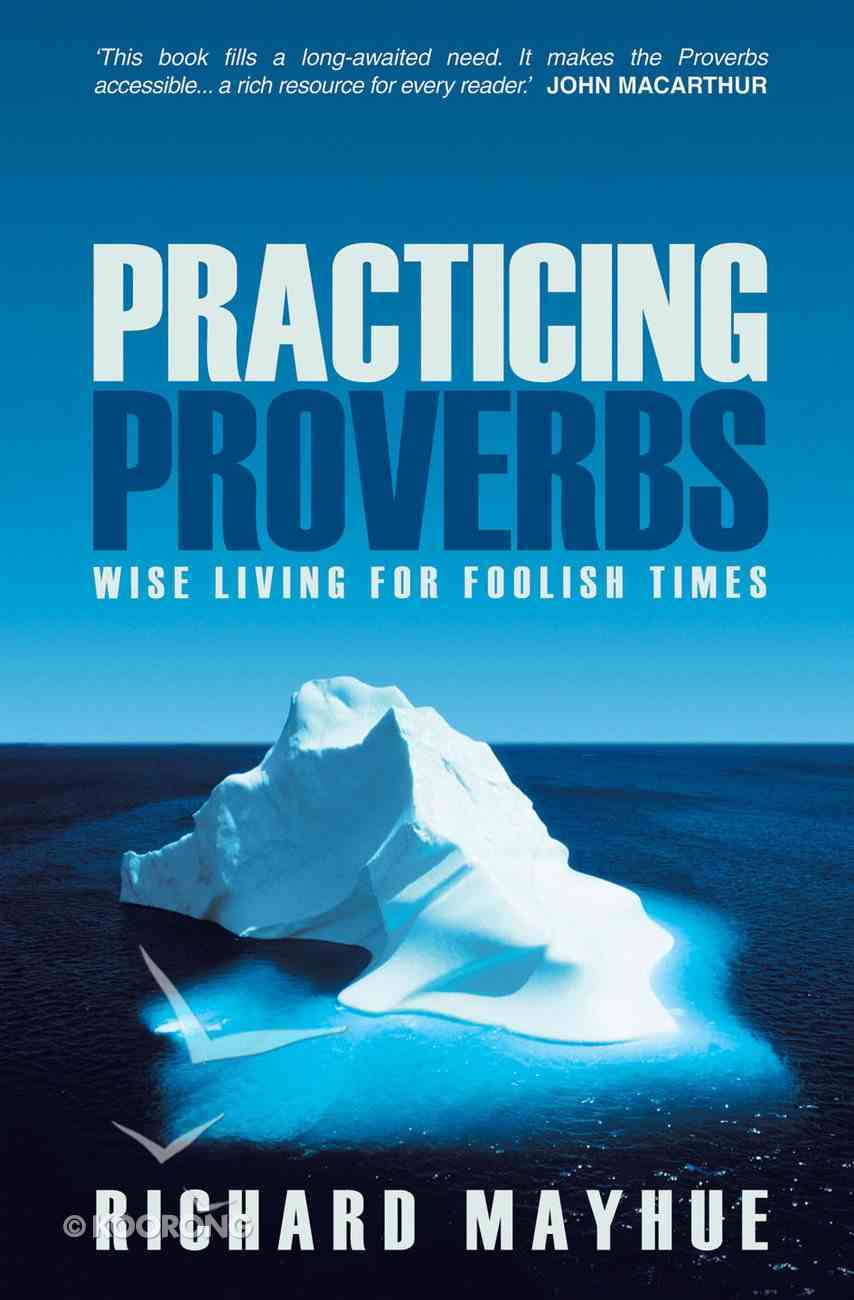 Practicing Proverbs Paperback