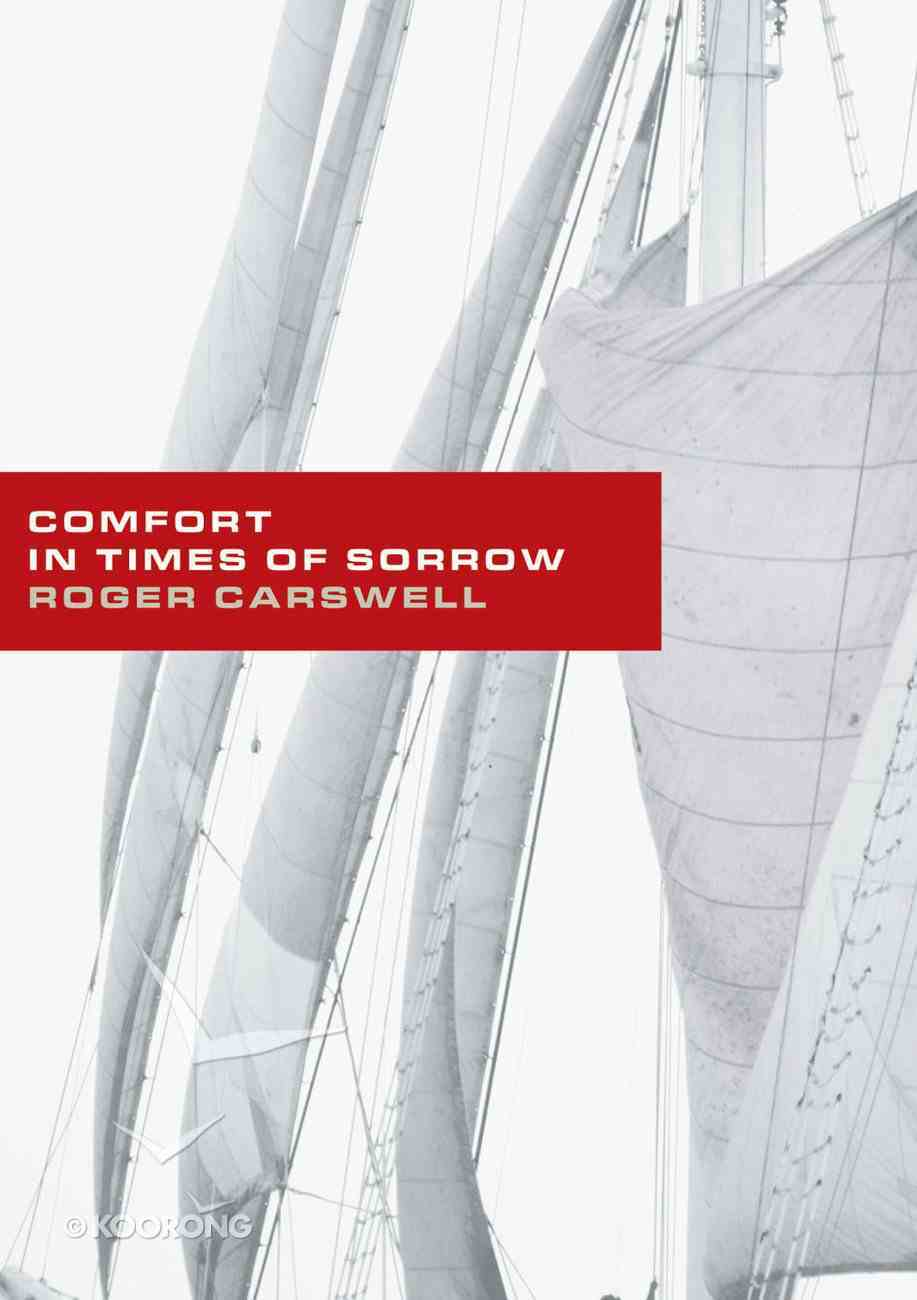 Comfort in Times of Sorrow Booklet