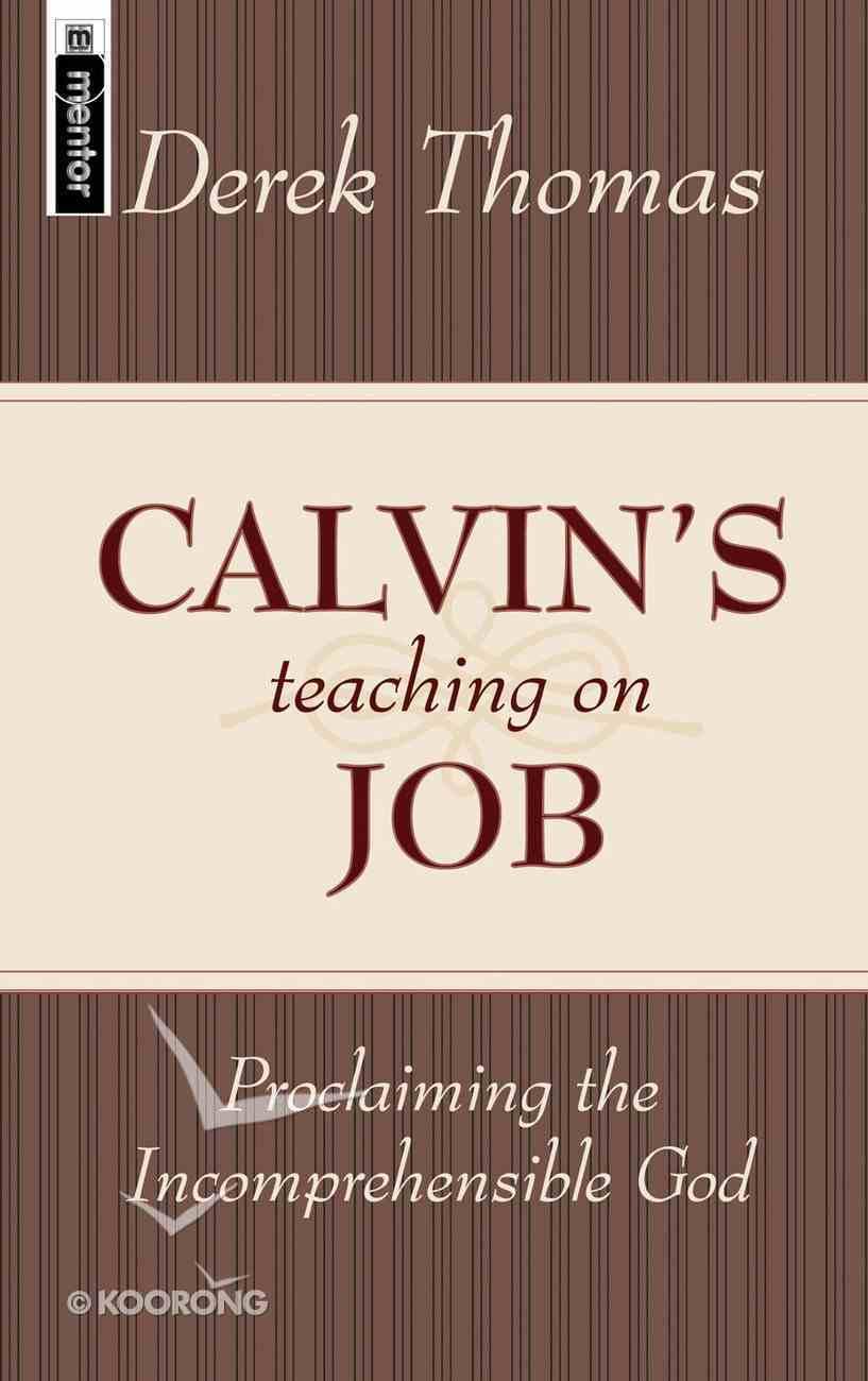 Calvin's Teaching on Job Hardback