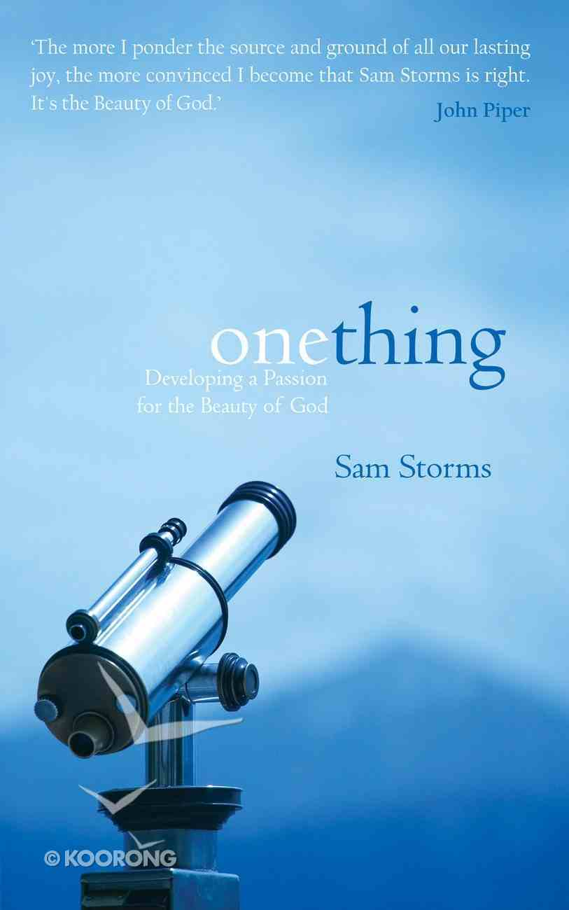 One Thing Paperback