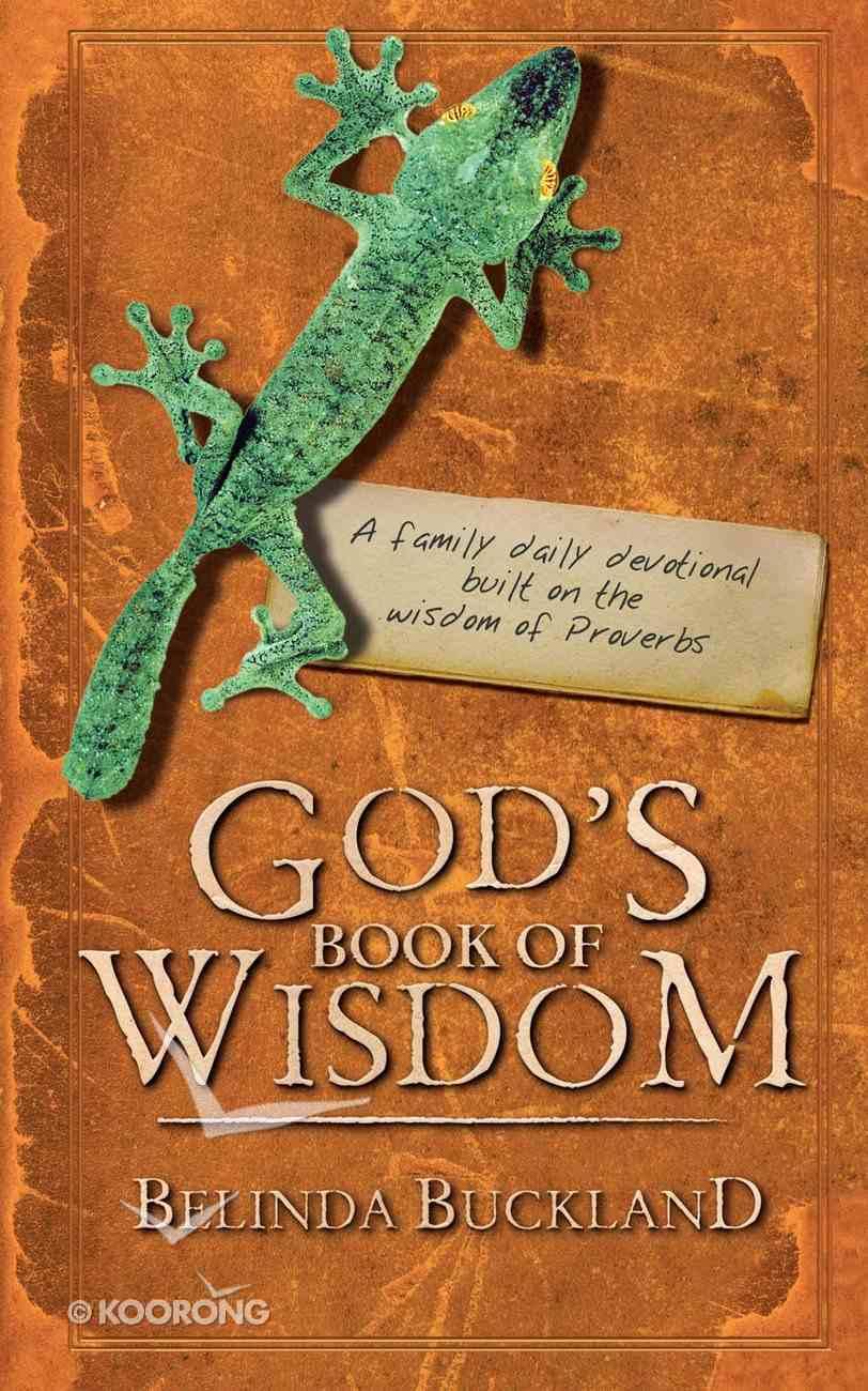 God's Book of Wisdom Paperback