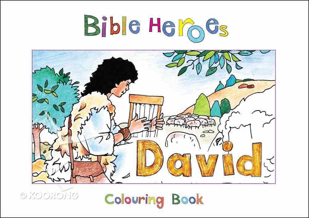 David (Bible Heroes Coloring Book Series) Paperback