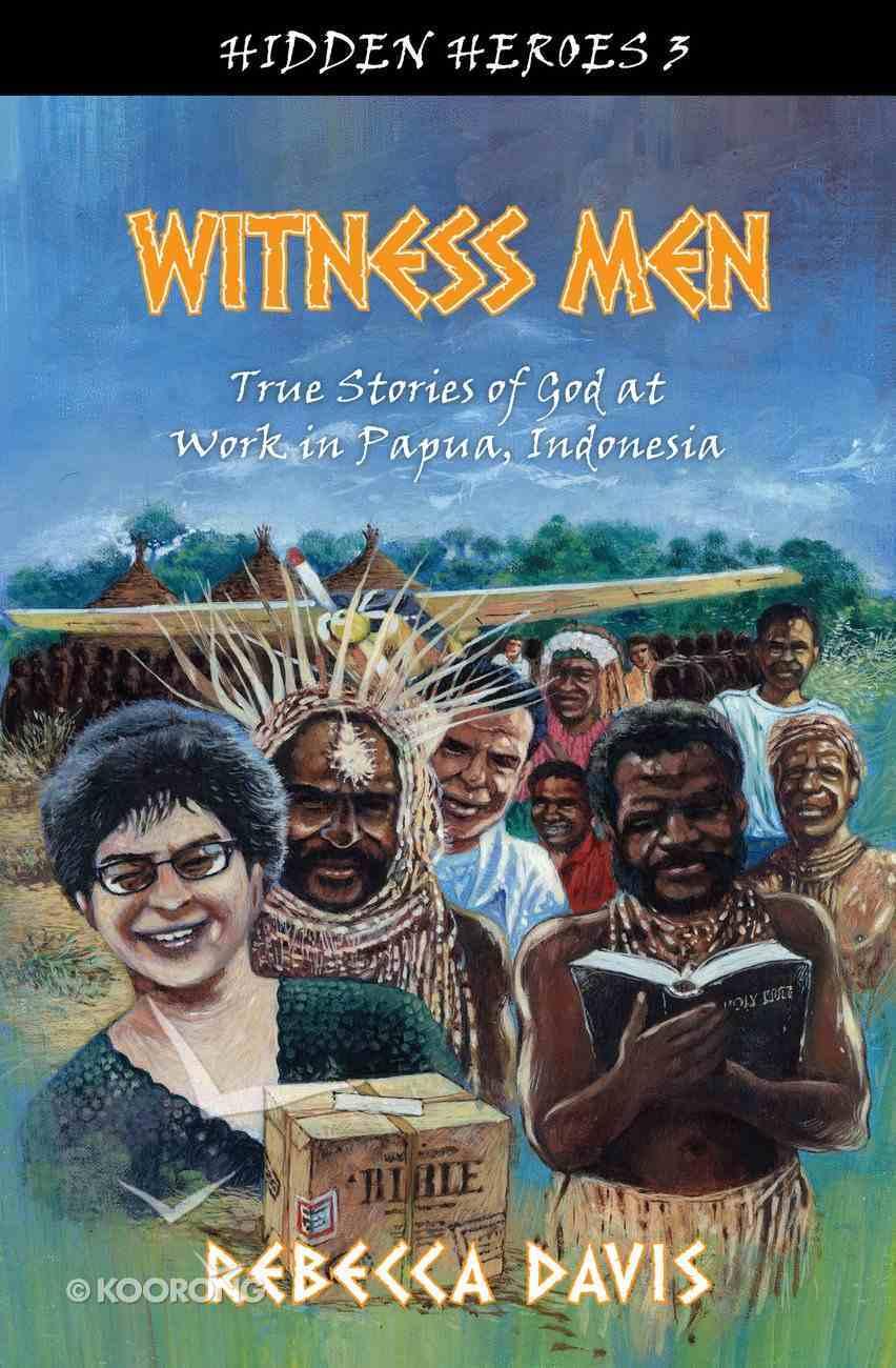 Witness Men (#03 in Hidden Heroes Series) Paperback
